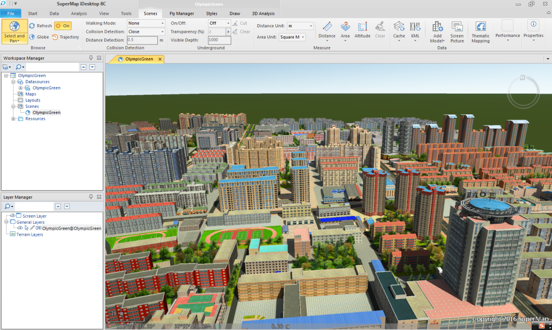 3D Data Resources_SuperMap GIS Software
